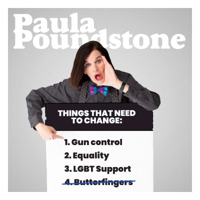 Paula Poundstone - Not My Butterfinger